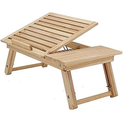uzi-lazy personas bienestar moderno minimalista portátil escritorio, cama y Radiador puede regular la pequeña mesa