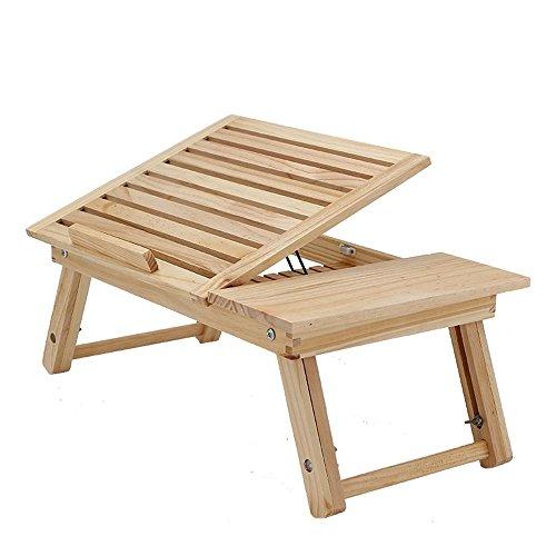 KHSKX Radiatore, letto e scrivania portatile minimalista moderno può regolare il piccolo tavolo pieghevole