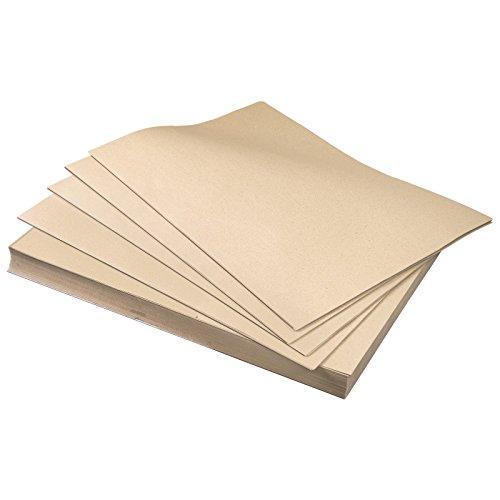 10 KG Bogen mit 50 x 75 cm 120 g/m² Schrenzpapier handliches Packpapier