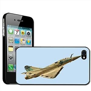 Fancy A Snuggle Coque à clipser pour iPhone 4/4S Motif avion de chasse au décollage
