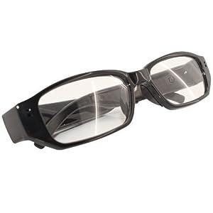 Xingan Mini DV Brille Videokamera Sonnenbrille DigitalKamera Eyewear versteckte Spion Recorder Camcorde +8GB Micro SD Karte