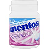 MENTOS GUM Pack de 6 Boîtes White Bubble (360 g)