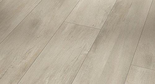 PARADOR Vinylboden Modular One - Fusion grey 1730775 - Designboden Landhausdiele Holzstruktur mit integrierter Kork-Trittschalldämmung und Klick-Verbindung - Paket a 2,493m²