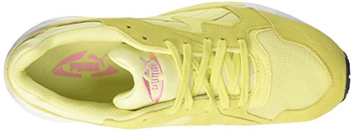 Puma Prevail, Unisex Low Athletic Sneakers - Adult Yellow (amarillo-prisma Soft Fluo Pink-puma White 06)