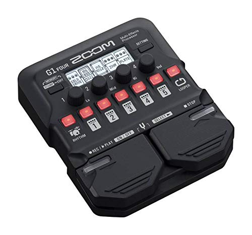 Zoom - G1 FOUR/IFS - pedaliera multieffetto, amp-simulator per chitarra