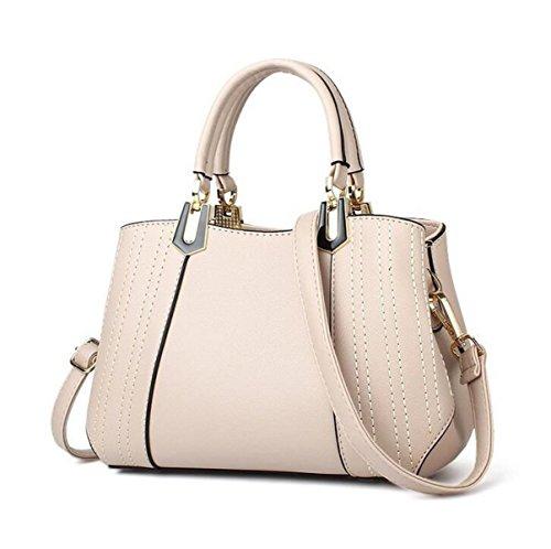 Marea Pacchetto Borse Borsa Tracolla Messenger Bag Ms. Bag Da Polso Sacchetto Di Svago Borse Da Viaggio Beige