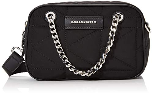 Karl Lagerfeld , Damen Handgelenkstasche schwarz Schwarz
