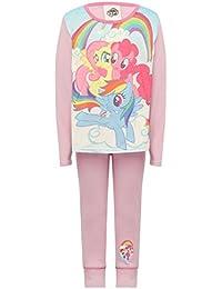 My Little Pony Girls Cotton Blend Pink Long Sleeve Character Print Top & Trousers Pyjama Set