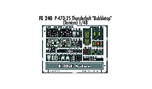 Eduard Accessories fe240 30502000 P-47D de 25 Thunderbolt bubbletop