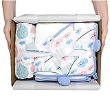 Emma & Noah Baby Geschenkset/Neugeborenen Erstausstattung für Mädchen & Jungen zur Geburt | Baby Shower (Wolke & Ballon Set)