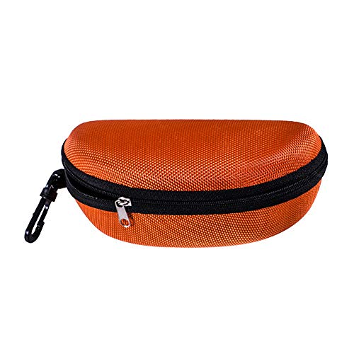 RONGYE Hard Zipper Exquisite Brillenetui Portable Sun Sonnenbrillenetui Clam Shell Case Protector Sonnenbrillenetui