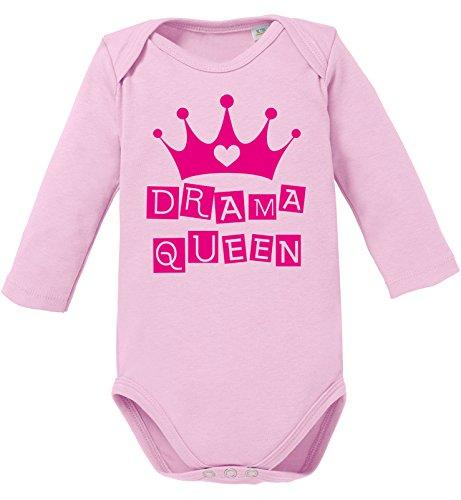 Drama Queen - Dramaqueen - Bio Baby - Glitzer-strampelanzug