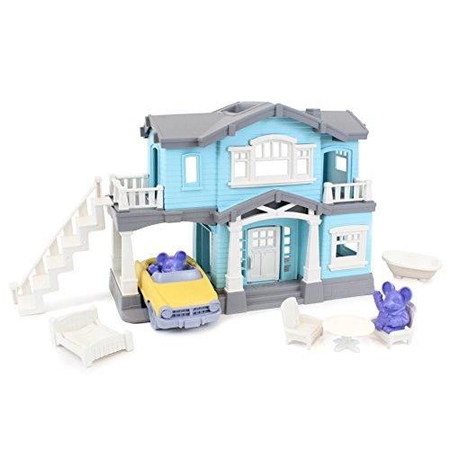 Grün Toys phse-1239Haus Spielset mit Zubehör–Creative Play Set (Raum Kleinkind Bett)