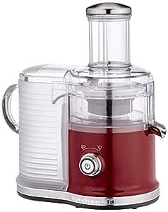 Kitchenaid 5kvj0333eca juice extractor 500w red for Cucinare juicer