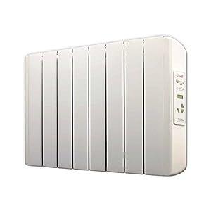 FARHO Radiador Eléctrico Eco-X 1000W Bajo Consumo · Emisor Térmico con Termostato Digital Programable 24/7