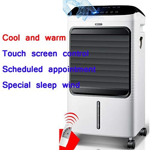 DENG&JQ Kühlung Eine Klimaanlage Ventilator, Mobile Remote Control Wasserkühlung Luftbefeuchter Reservierungszeitpunkt Energieeinsparung 6l Wassertank-c -