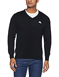 Monte Carlo Mens Wool Sweater (8907678004557_1170115VN-118-42_Black)