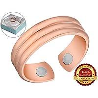 BisLinks® 99.9% Kupfer Magnetisch Health Ring Für Männer Men & Frau Women Extra Strong 2 Magnete (3000 Gauss Each... preisvergleich bei billige-tabletten.eu