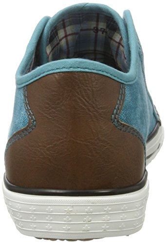 Rieker Damen M2270 Sneakers Türkis (tuerkis/brown / 12)