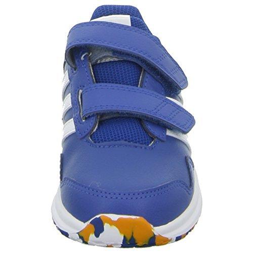 adidas Snice 4 Cf I, Chaussures Mixte Bébé, Multicolore Bleu - Blau (Eqt Blue S16/Ftwr White/Eqt Orange S16)