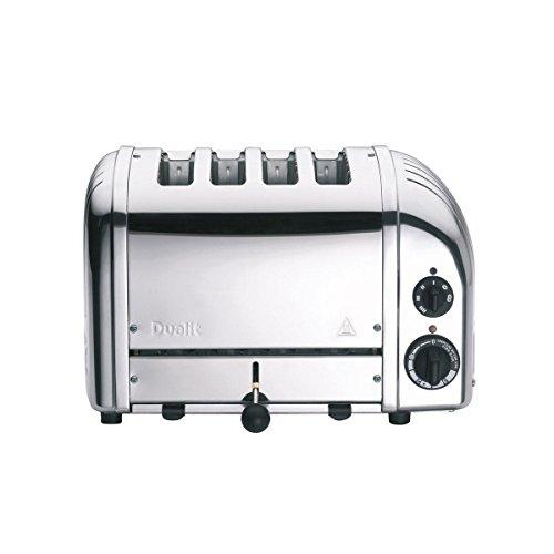 Dualit Classic NewGen Vario 4 Toaster, silber poliert handgefertigt