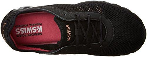 K-Swiss donna x Lite Athleisure Cmf cross-trainer scarpe Black/Rosegold/Hot Pink