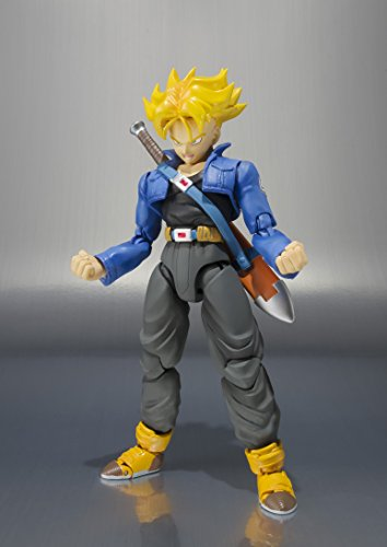 Bandai Tamashii Nations S.H. Figuarts Trunks Figura de Acción Color de Edición Premium 2