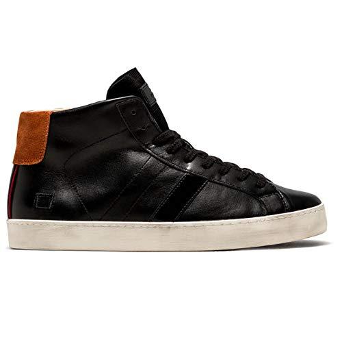 Date sneakers uomo hill high calf black (41 eu)