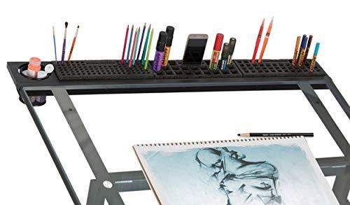 Zeichnung Studio (Studio Designs Art Tablett, Metall, anthrazit schwarz, 107x 16,5x 10cm)