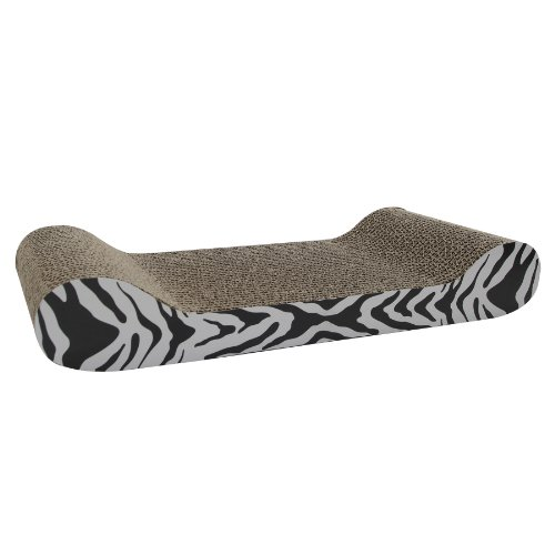 Catit-Tiger-Design-Patterned-Scratching-Board-with-Catnip-Lounge
