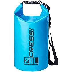 Cressi XUA928620 Bolsas Estancas Multiuso, Azul Claro, 20 LT