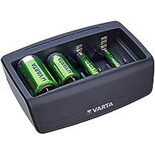 La Batería Varta Nimh, Cargador De Batería Universal Para Aa, Aaa, C, D Y 9V, Menor De La Ampolla