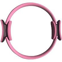 TenYid Pilates Ring Yoga Gymnastik Circle mit 40cm Durchmesser für Ein Effektives Kraft und Widerstandstraining