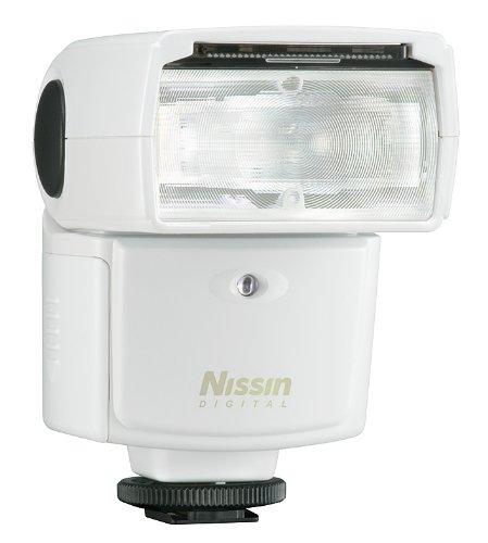Nissin Di466 Four Thirds Blitzgerät für Olympus/Panasonic weiß