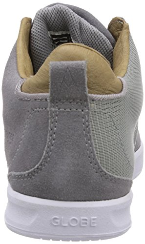 Globe Abyss, Baskets mixte adulte Gris - Grau (grey/tan)