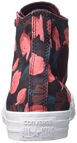 Converse 557953c, Sneaker a Collo Alto Donna Mehrfarbig (Dark Sangria/Pink/White)
