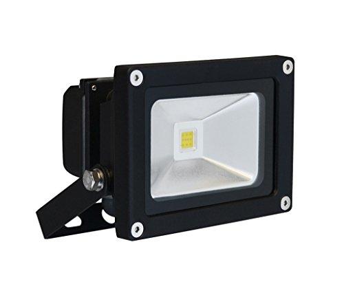 DIODOR Projecteur LED 10 W, protection IP65, boîtier, blanc chaud Dio-fl10 N W