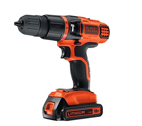 Black & Decker EGBL188K-GB - Taladro percutor