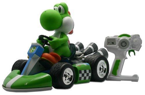 Nintendo 40cm Mario Kart Wii Radio Control Wireless Yoshi (groß)