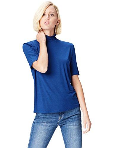 Find. 70385a magliette donna, blu (blau), 42 (taglia produttore: small)