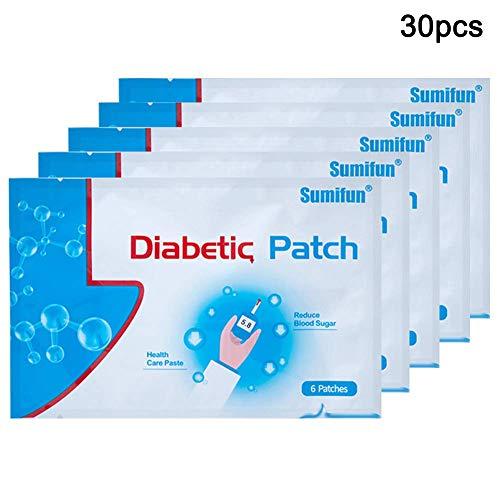Arkone Diabetes Patch Diabetes Maniküre Stabilisiert Blutzucker Balance Glukose Pflaster - 30pcs