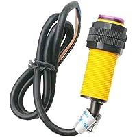 F Fityle Universal E18-D80NK Photoelektrischer Sensor Einstellbare Infrarot-Lichtschranke Erkennen Sensor Hindernisvermeidung