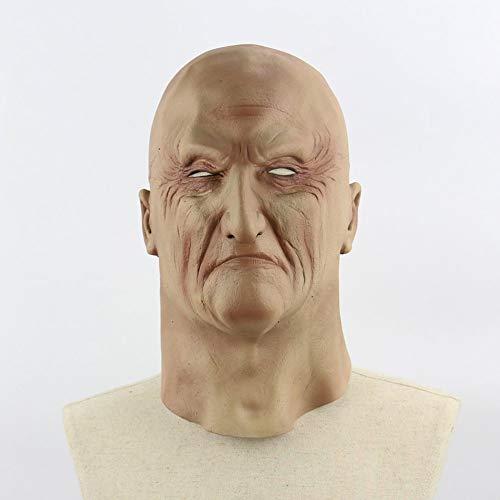 Halloween gruselig schrecklich unheimlich realistisch grausig alten Mann Maske Cosplay Kostüme Partei Requisiten Maskerade Supplies