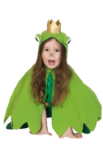 Rubie's 1 2208 104 - Frosch Cape Kostüm, Größe 104 (Froschkönig Kostüm Baby)