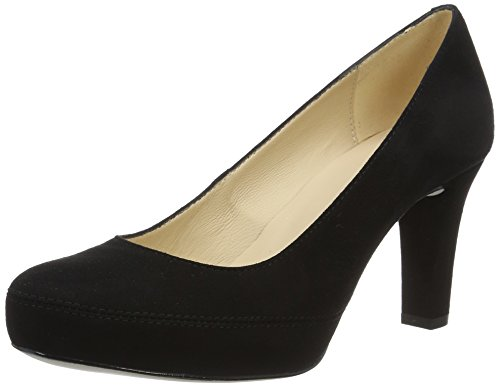 Unisa Damen Numar_17_ks Pumps Schwarz (Black)