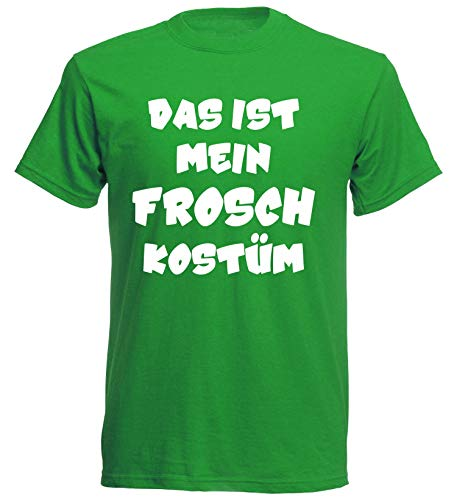 aprom T-Shirt Frosch Kostüm Karneval Fasching Gruppenkostüm JGA - Frosch Prinz Und Prinzessin Kostüm
