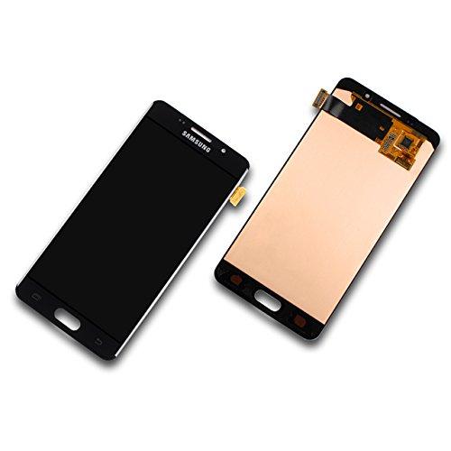 LCD Display Samsung A510F Galaxy A5 2016 Original full set black - LCD Display + Display Glas + Touchscreen + Elektronik