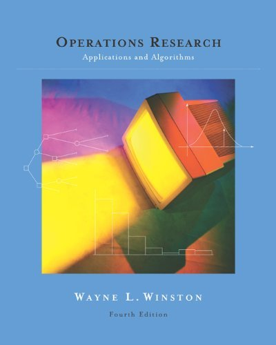 Operations Research: Applications and Algorithms (with CD-ROM and InfoTrac) by Wayne L. Winston (2003-07-25)