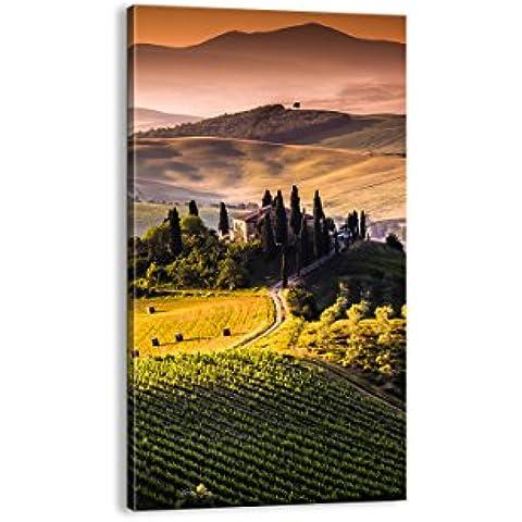 Cuadro sobre lienzo - de una sola pieza - Impresión en lienzo - Ancho: 55cm, Altura: 100cm - Foto número 2465 - listo para colgar - en un marco -