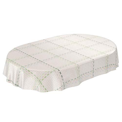 ANRO Mantel Hule Cera Mantel Encerado Mantel Textil